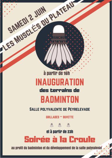 affiche badminton V7